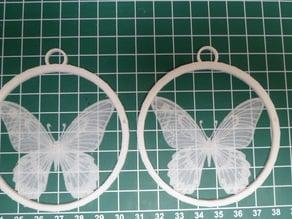 Butterfly XMas tree hanger