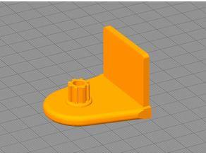 Winkel für Doppelrollo (Aluprofil 36x3mm)
