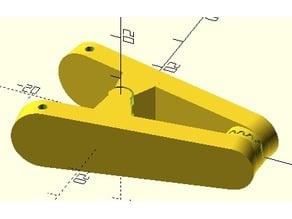 Klammer / Clip für IKEA Oktopus (PRESSA)