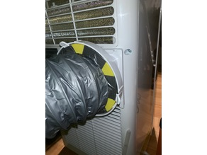 Portable Air Conditioner duct adapter