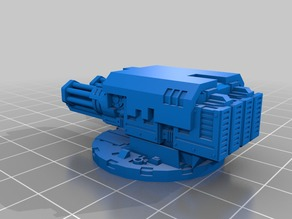 Twin linked assault cannon kit