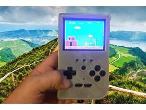 "Super Retropiepod - 3.5"" Raspberry Pi 3 Portable Retro Gaming Handheld"