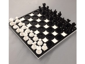 3D Printed Chess Board