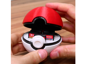 Pokeball Switch Cartridge Holder