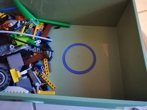 Lego Storage Box Inlay