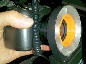 Canon powershot SX1 to Starblitz 1000 Auto MACRO-LITE direct adapter