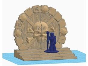 Skull Portal for 28mm RPG games