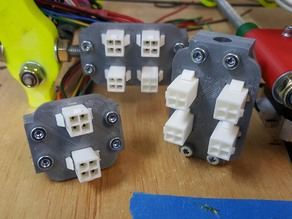 Remixed ATX power connector bracket for Prusa i2