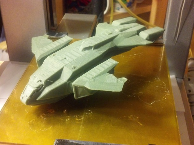 Pelican from Halo by DrewPetitclerc - Thingiverse