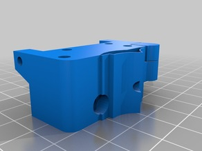 Lawsy's MK5 solidoodle extruder for ninjaflex