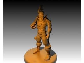 Human Barbarian Blacksmith