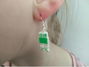 Otto DIY souvenir earrings
