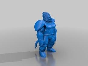 Vegeta Ape - Dragonball Z