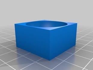 Half sphere of fluid
