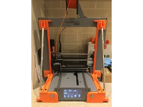 Wanhao i3 Plus/Cocoon Create Touch/Balco Z axis brace & integrated enclosure rail