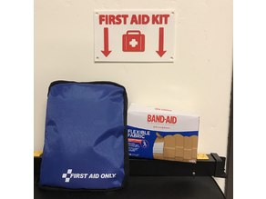 First Aid kit panel - official sign