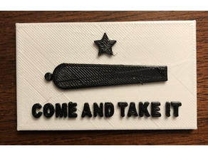 Come and take it magnet