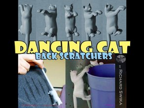 Dancing Cat Back Scratcher, Puppet and Toy