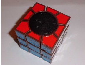 Rubik's 3x3x3 O-type (2) Square One and Square Two