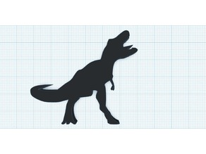 T-Rex silhouettes