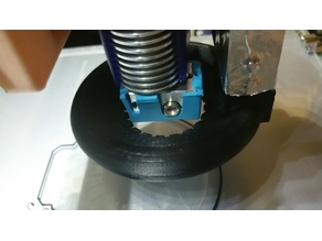 Low Profile Print cooling duct for E3D V6 authentic