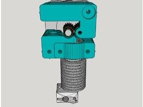 mk8 e3dv6 dual gear