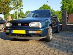 VW Golf / Passat / Polo  (3) GT & GTI Badge + Grill holder