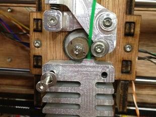 Extruder heat sink