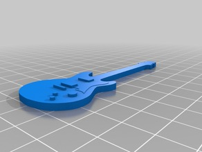 Key Chain Electric Guitar