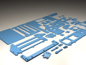 Printrbot Simple Parts (complete set)