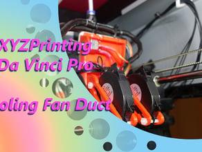 Exhaust Fan Duct for the XYZPrinting Da Vinci Pro 1.0 & 3-in-1