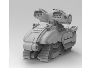 Battletech Gurzil Support Tank