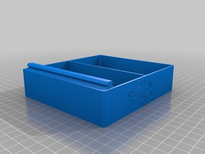 My Customized Dr Boo's  Ender 3 Tool Tray with right side rail