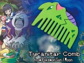 Tyranitar Comb