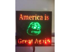 America is great Again President Trump