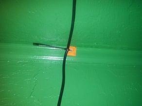 woodscrew ziptie mount