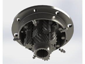Limited slip differential (Case and internals)