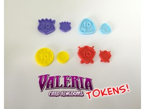 Valeria Card Kingdoms Upgrade Tokens (Boardgame)