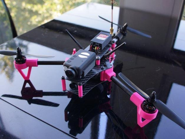 Brocopter Y3: foldable mini tricopter by KipK - Thingiverse