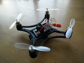 Easy swap system for Micro 105 FPV Quadcopter