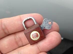 YongGu Key for 20mm Padlock
