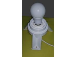 E27 Lamp Socket Stand/Mount