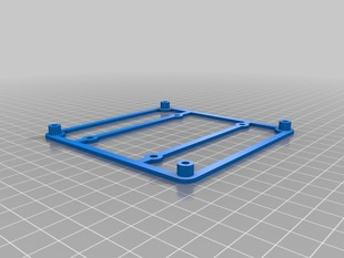 RAMBo adapter for RAMPS mounting holes
