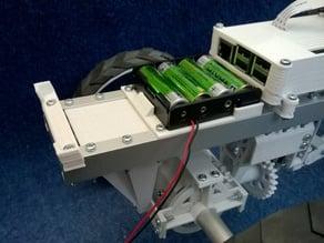 Power supply holders for GuardBot
