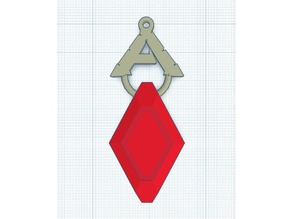 Ark Survival Specimen Implant Keychain