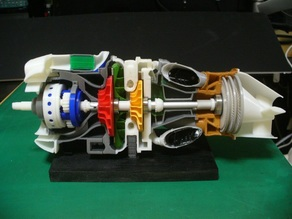 Turboprop Engine Modified Parts