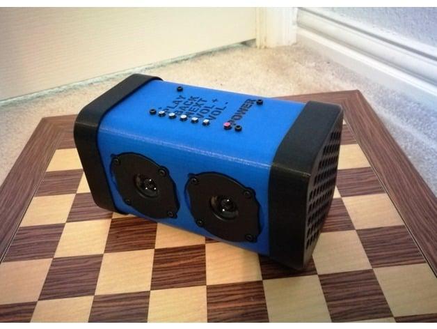 BlueTooth Speaker Enclosure for TDA7492P INSMA BT Board by Jimbotron
