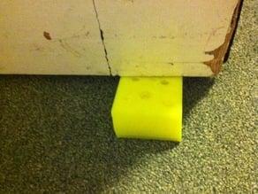 Cheesy door stop