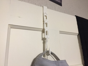 Surfing Styled Hook to Hang a Hat or Sweater