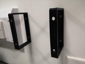 Wall glove box holder